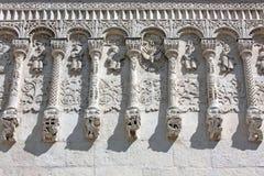 Fragmento de la decoración Demetrius Cathedral Fotografía de archivo libre de regalías
