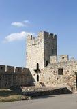 Fragmento de la fortaleza de Belgrado con un puente, Serbia Fotos de archivo libres de regalías