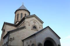 Fragmento de la iglesia de Kashveti imágenes de archivo libres de regalías