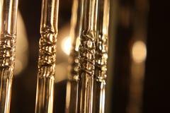 Fragmento de la lámpara eléctrico Imagen de archivo libre de regalías