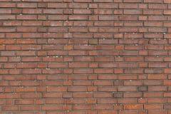 Fragmento de la pared de ladrillo marrón Imagenes de archivo