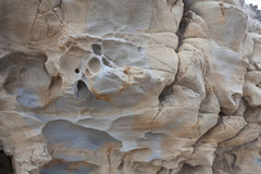 Fragmento de la piedra o de la roca vieja Fotografía de archivo