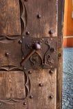 Fragmento de la puerta a la catedral en Pelplin en Polonia Fotos de archivo