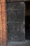 Fragmento de la puerta a la catedral en Pelplin en Polonia Foto de archivo libre de regalías