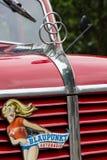 Fragmento de um carro de bombeiros Krupp Tigre, 1956 foto de stock