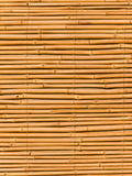 Fragmento de um interior de um bambu Fotografia de Stock
