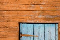 Fragmento de uma casa de madeira Imagem de Stock Royalty Free
