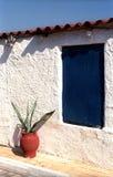 Fragmento de uma casa pequena Fotos de Stock Royalty Free