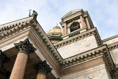 Fragmento de uma catedral Foto de Stock Royalty Free