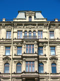 Fragmento de uma fachada do edifício em Nevsky Prospekt Fotos de Stock