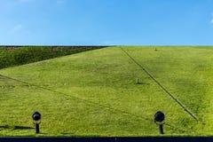 Fragmento de uma passagem verde Foto de Stock