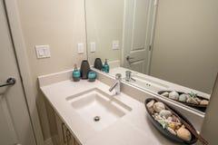 Fragmento de un cuarto de baño de lujo Fotografía de archivo libre de regalías