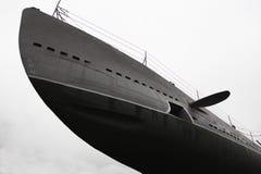 Fragmento de un submarino imagen de archivo libre de regalías
