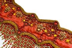 Fragmento de un traje para la danza del este Fotografía de archivo libre de regalías