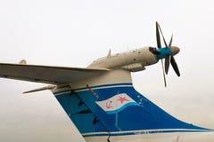 Fragmento del avión ruso A-90 Orlyonok Fotos de archivo