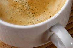 Fragmento del café express Imagen de archivo libre de regalías