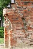 Fragmento del claustro Románico en Doberan Fotos de archivo libres de regalías