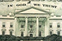 Fragmento del dólar Imagen de archivo