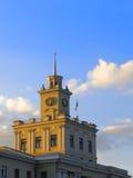 Fragmento del edificio administrativo Imagen de archivo libre de regalías