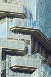 Fragmento del edificio Hon Kong Imagenes de archivo