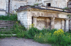 Fragmento del edificio Iglesia Paraskev viernes, por la tarde del verano en la ciudad de Staritsa Región de Tver Rusia Imagenes de archivo