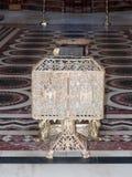 Fragmento del interior de la iglesia de Santo Sepulcro en Jerusalén, Israel Imágenes de archivo libres de regalías