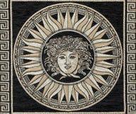 Fragmento del material clásico de la tapicería Imagenes de archivo