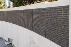 Fragmento del monumento del renacimiento en el cuadrado de la revolución en cuadrado capital del citRevolution en el capital de R Fotos de archivo libres de regalías