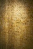 Fragmento del texto medieval Fotografía de archivo libre de regalías