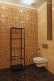 Fragmento do banheiro luxuoso Fotos de Stock Royalty Free