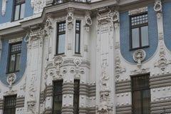 Fragmento do estilo Jugenstil de Art Nouveau Foto de Stock