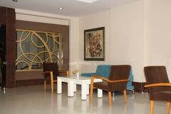 Fragmento do hotel das estrelas da entrada cinco Imagem de Stock