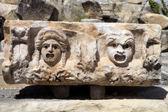 Fragmento do relevo Demre Myra, Turquia Imagens de Stock