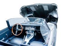 Fragmento do táxi do carro convertível Imagens de Stock