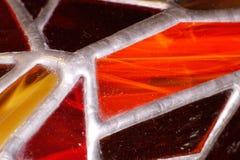 Fragmento do vitral Imagem de Stock