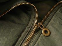 Fragmento do Zipper Imagem de Stock