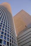 Fragmento futurista da arquitetura Fotografia de Stock