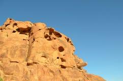 Fragmento imaginario de la roca Fotos de archivo