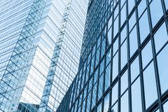 Fragmento moderno abstrato da arquitetura de negócio Fotos de Stock