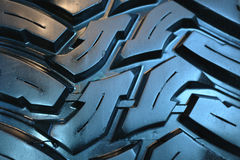 Fragmento novo dos pneus fotos de stock