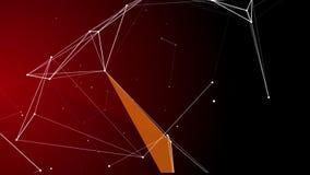 Fragmentos abstratos 12 do plexo ilustração do vetor