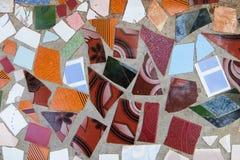Fragmentos coloridos fotografia de stock royalty free