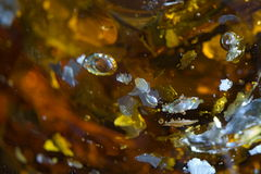 Fragmentos de flutuação Fotografia de Stock