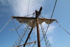 Fragmentos de um navio de pirata imagens de stock royalty free