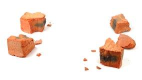 Fragmentos do tijolo Imagem de Stock