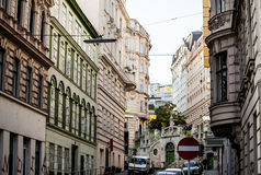 Fragments of architecture in Vienna, Austria Stock Photography