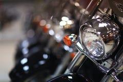 Fragments brillants des motos images libres de droits
