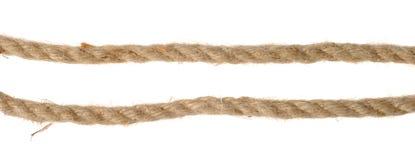Fragments de corde Photo libre de droits