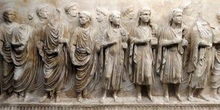 Fragments de l'avant des sarcophages image stock