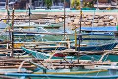 Fragments des bateaux Images stock